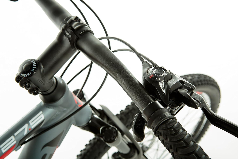 Moma Bikes Bicicleta Monta/ña  GTT 27,5Alu Doble Freno Disco Susp Delant. SHIMANO 24V Varias Tallas