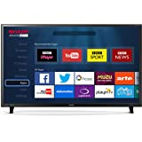 Sharp LC-49CFF6001K 49-Inch 1080p Full HD Smart TV with Freeview HD - Black