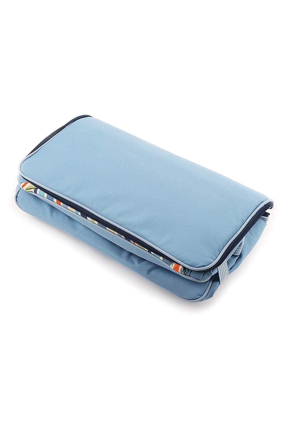 Greenfield Collection Sky Blue 2 Litre Folding Lunch Cool Bag