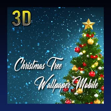 Amazoncom Christmas Tree 3d Wallpaper Mobile Appstore For