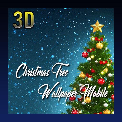 Christmas Tree 3d Wallpaper Mobile Amazones Appstore Para