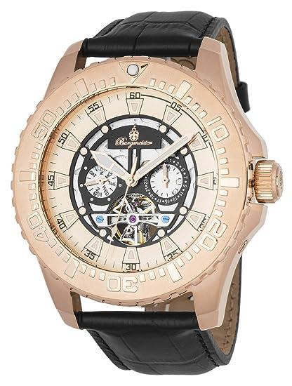 Burgmeister reloj caballero automatico Blackpool, BM339-322: Amazon.es: Relojes