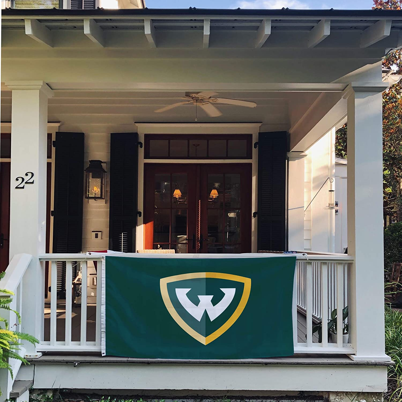 Desert Cactus Wayne State University NCAA 100/% Polyester Indoor Outdoor 3 feet x 5 feet Flag Style 2a