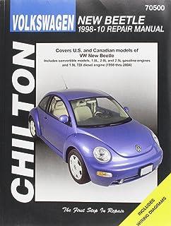 Vw new beetle 1998 2010 repair manual haynes repair manual haynes chilton total car care volkswagen new beetle 1998 2010 repair manual chiltons total fandeluxe Images