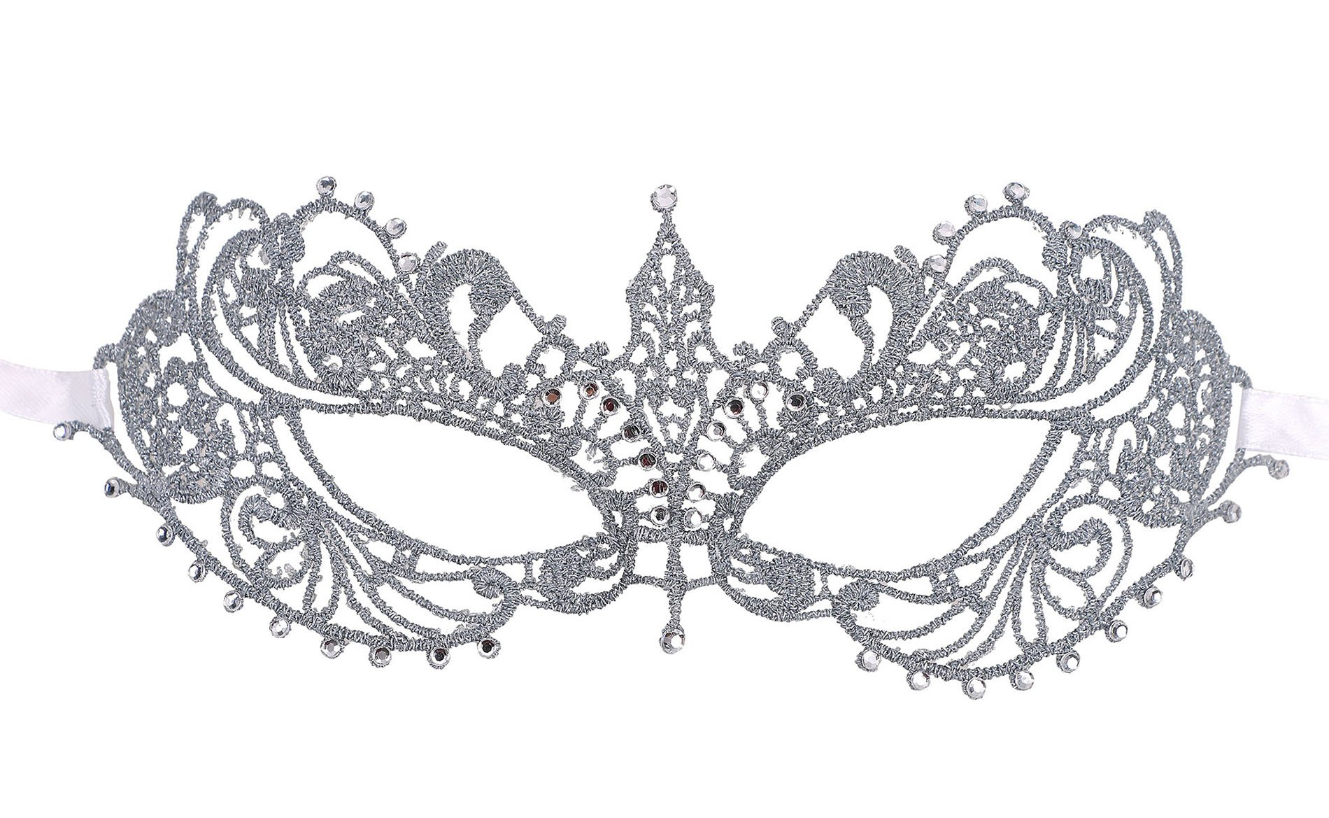 Lullaby Womens Masquerade Mask Halloween Cosplay Venetian Party Lace Mask