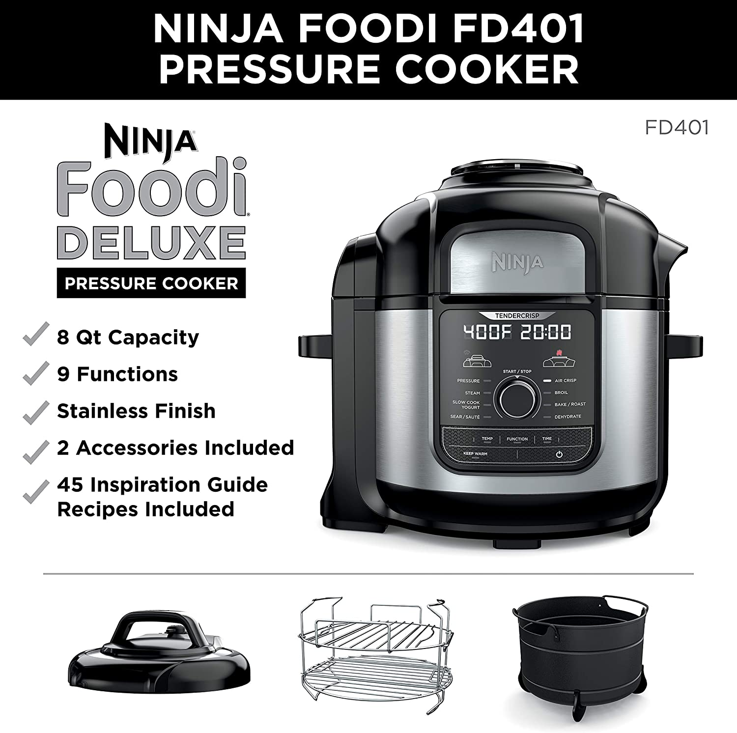 Ninja multi-cooker : instant pot vs stovetop pressure cooker