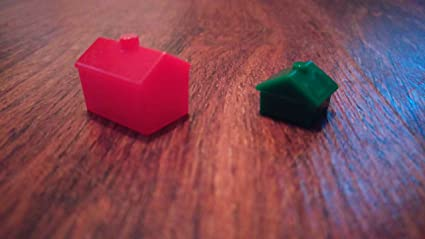 Monopoly House And Hotel Pack 32 Houses 12 Hotels By Hasbro