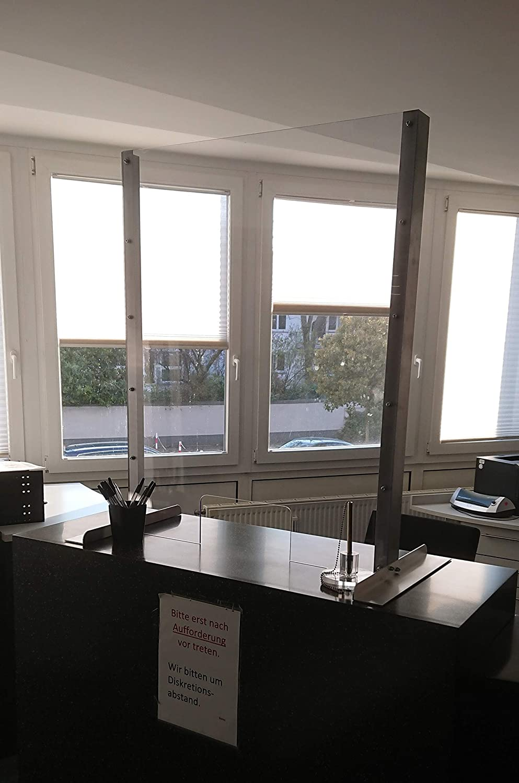 B /& T m/étal verre acrylique PMMA XT Transparent Transparent 6,0/mm d/épaisseur r/ésistant aux UV rev/êtement des deux c/ôt/és standard formats