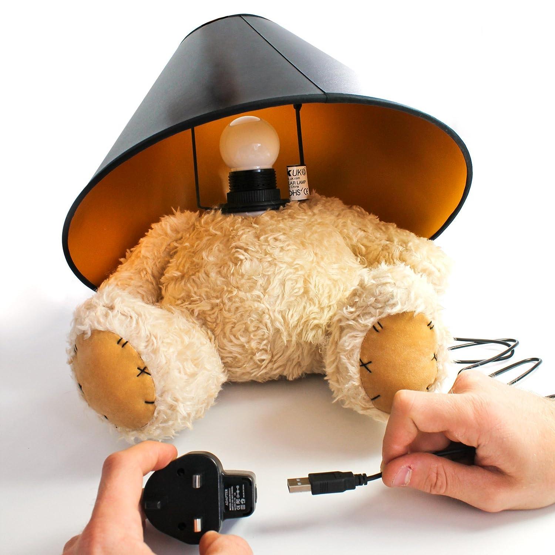 uk teddy bear lamp amazon co uk lighting