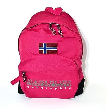 Mochila escolar americano Napapijri noyflkp65 Hot Pink Escuela oferta New