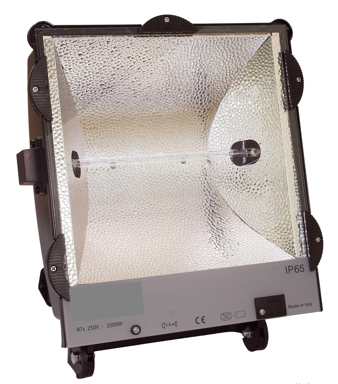 as - Schwabe 47209 Halogen-Strahler IP65 2000 W, 4,5m H07RN-F 3G1,5