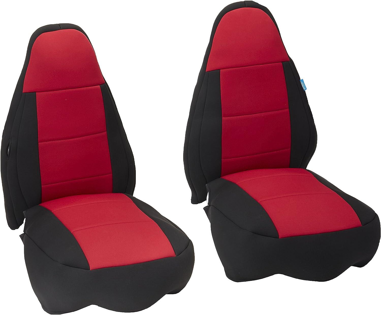 Neoprene, Solid Black Coverking Custom Fit Seat Cover for Jeep Wrangler TJ 2-Door
