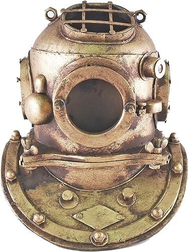 Deep Sea Diving Helmet Nautical Reproduction Tin