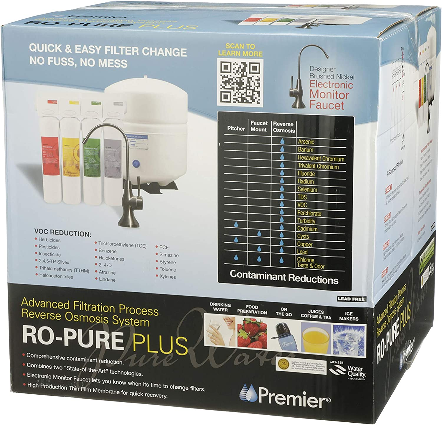 Watts Premier WP531417 Reverse Osmosis System