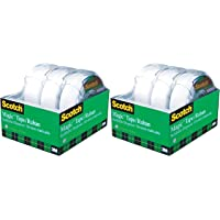 Scotch Tape Magic Tape, 19mm Wide x 32.9m, 3 Rolls with Dispensers (2 Pack)