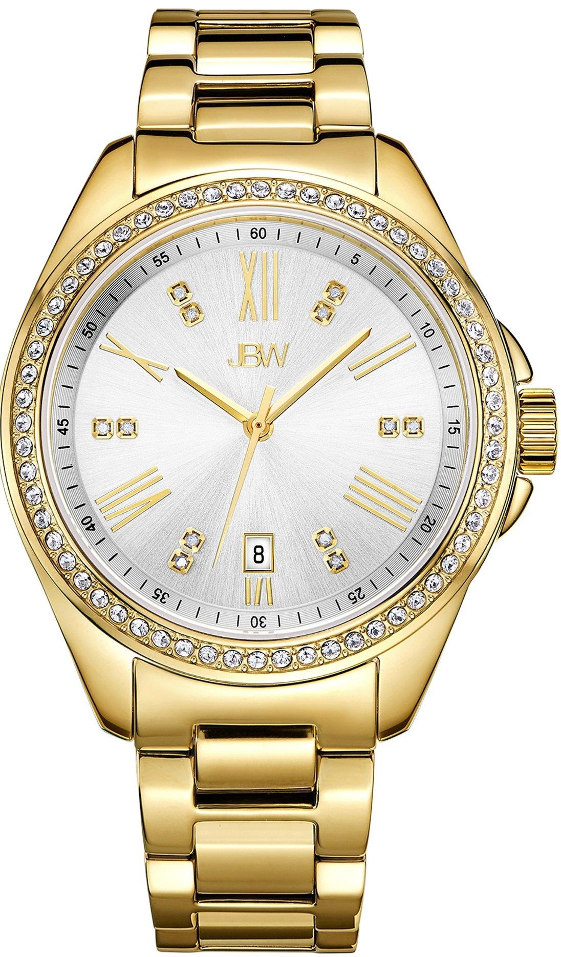 Jbw Women's Capri J6340B Gold Diamond Watch 6