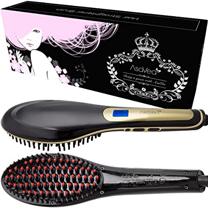 Cepillo alisador de pelo – AsaVea cepillo alisador de cabello - #1 el desenredante de