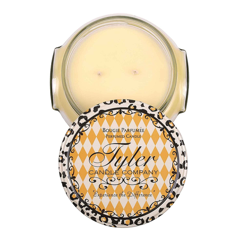 Tyler Glass Fragrance Candle 22 Oz,Gardenia