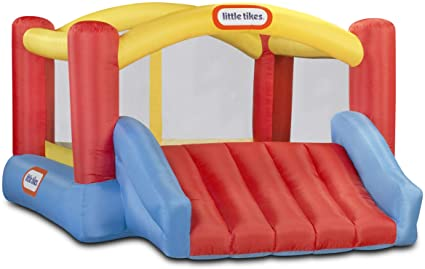 Amazon Com Little Tikes Inflatable Jump N Slide Bounce House W