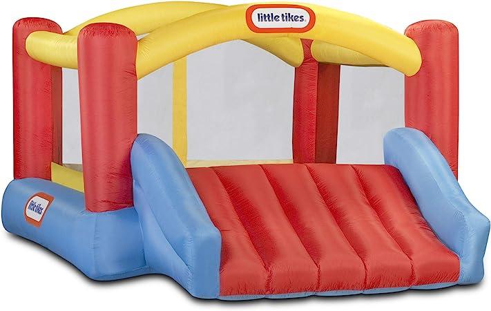 Little Tikes Inflatable Jump n Slide Bounce House w/heavy duty blower