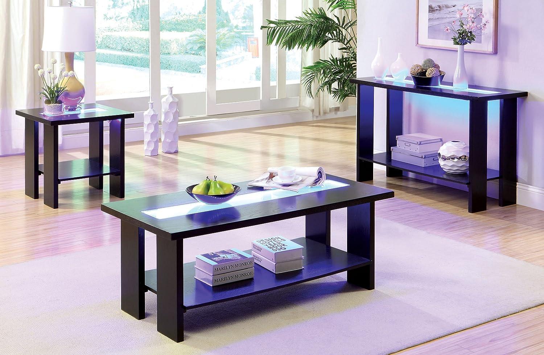 amazon com furniture of america crownguard 3 way led lighted