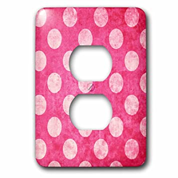 3drose Tdswhite Patterns Designs Hot Pink And Polka Dots Light