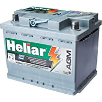 Bateria Automotiva 60Ah Ac.El.Ag60Hd U/C Heliar Agm Plus