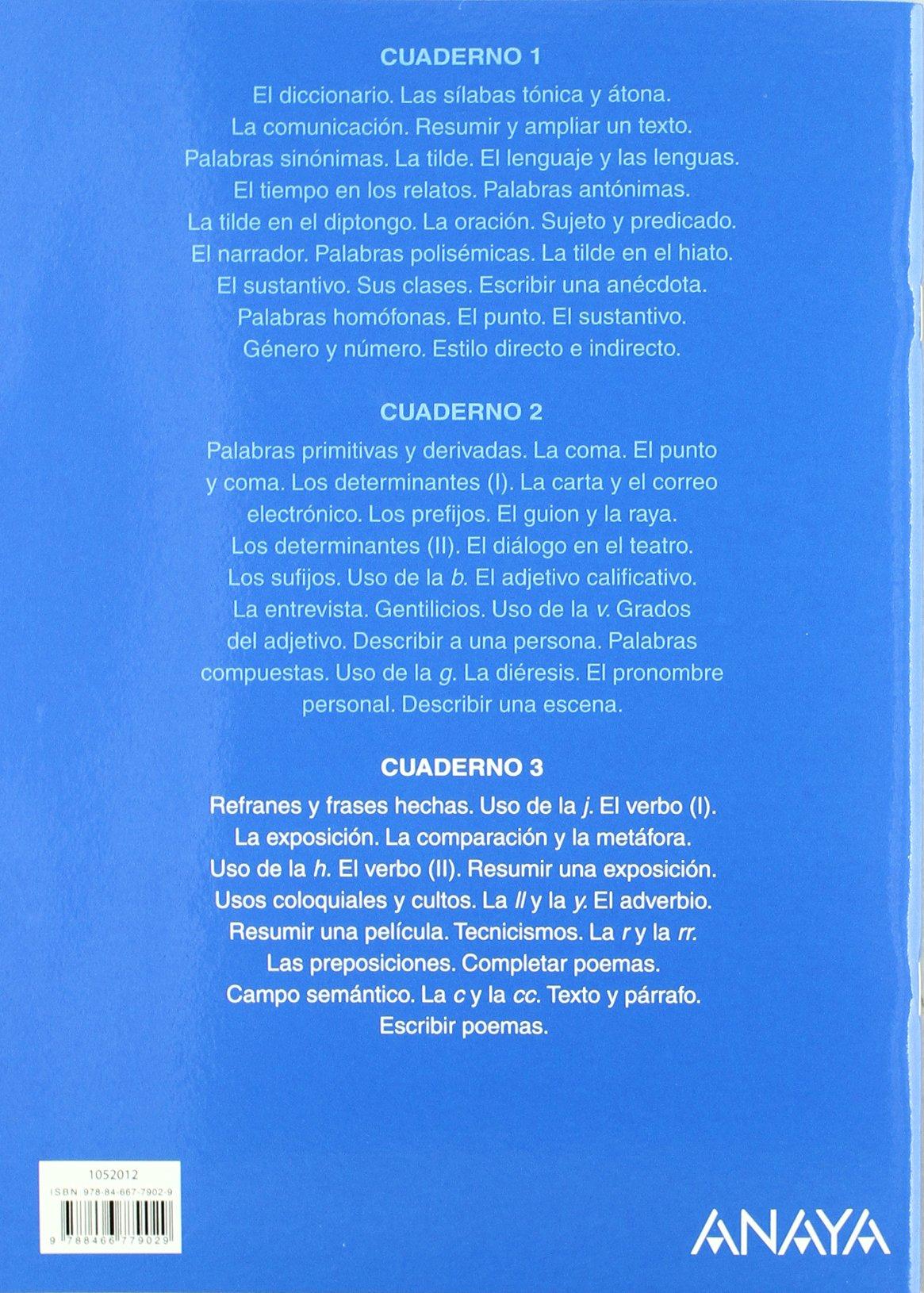 Lengua 5. Cuaderno 3. (Abre la puerta): Amazon.es: María Isabel Fuentes Zaragoza: Libros