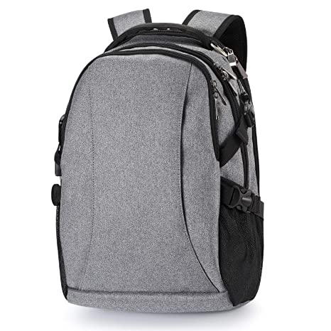427da03905da4d Laptop backpack, business anti-theft ultra-thin and durable travel backpack  with USB