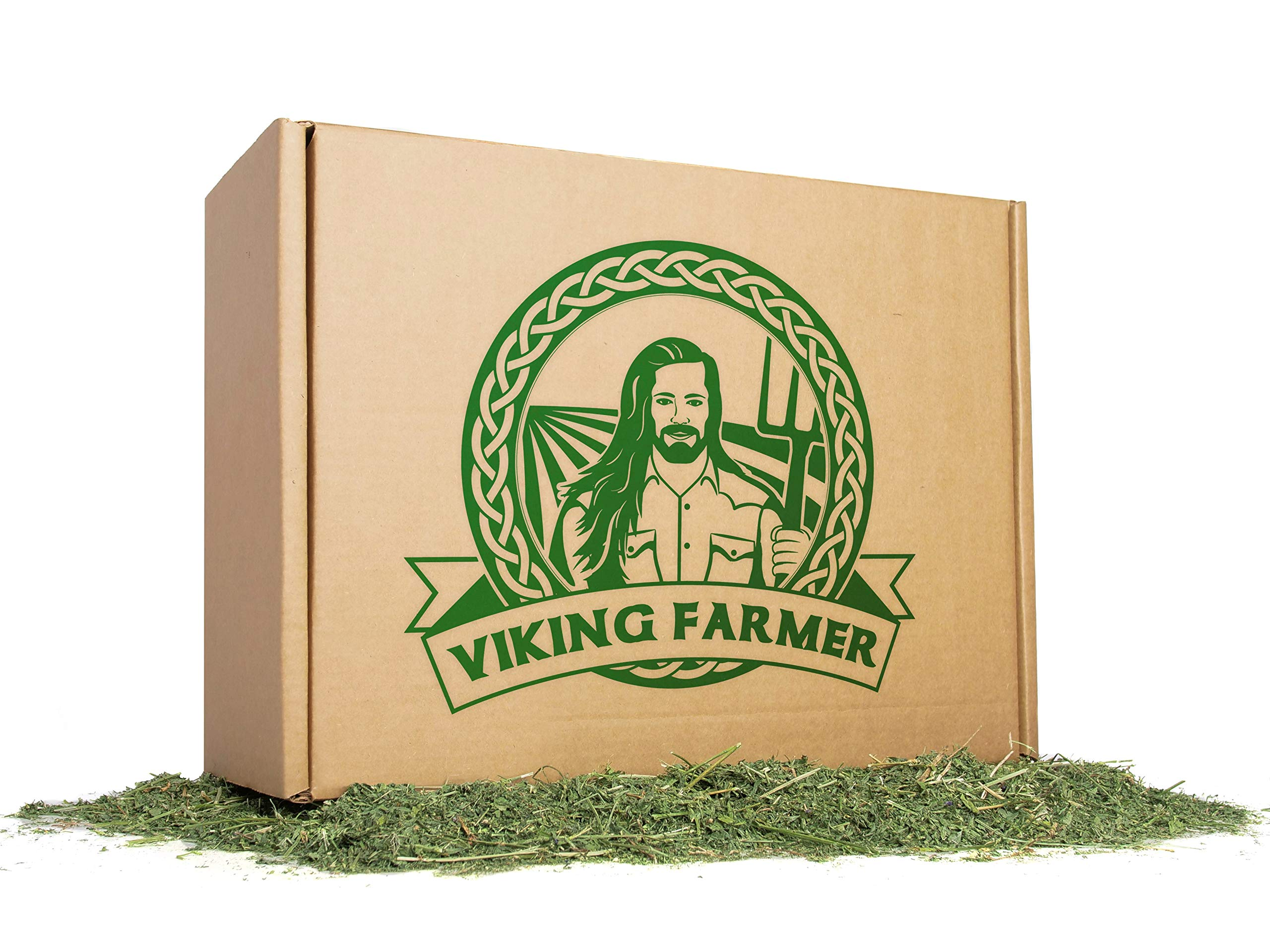 Viking Farmer Alfalfa Hay for Rabbits & Small Pets - 10 lbs by Viking Farmer