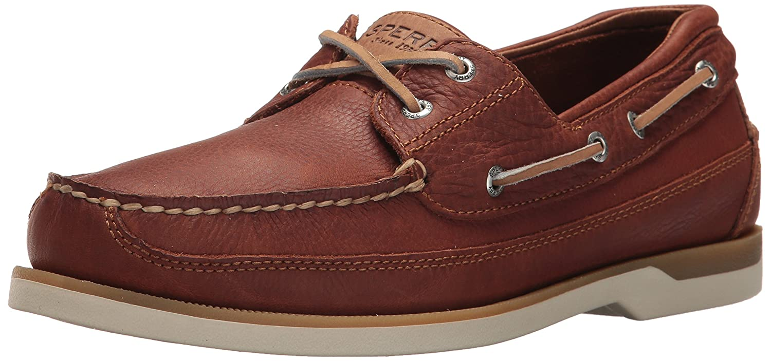 Sperry Top-Sider Men's Mako 2-Eye Canoe Moc Lace-Up SPERM