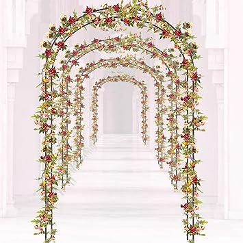 Oplon Rosenbogen Hochzeit Rankhilfe Aus Metall Romantischer