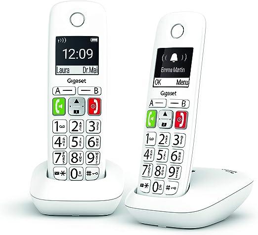 Gigaset E290 Duo - Teléfono para Mayores: Amazon.es: Electrónica