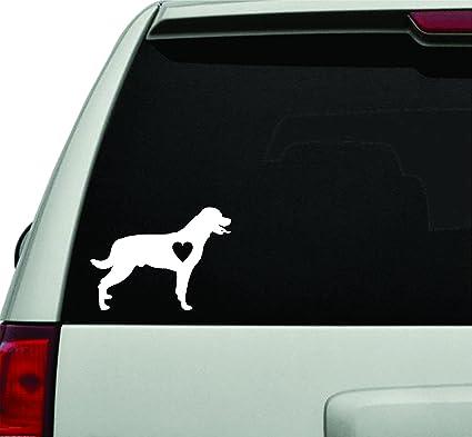 Rottweiler love dog breed white version car window windshield lettering decal sticker decals stickers