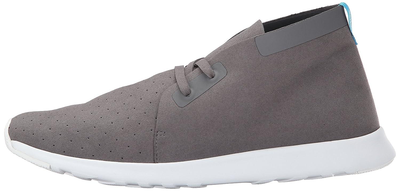 native Men's Apollo Chukka Fashion Sneaker B00QFW5Y80 9 D(M) US|Dublin Grey/Shell White/Shell White Rubber