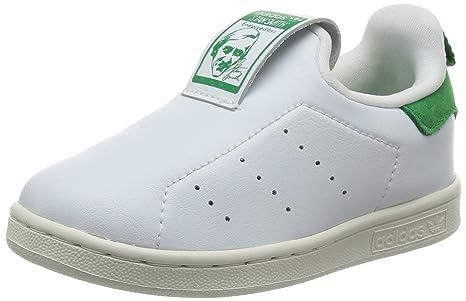 brand new 3b3fe 685a2 Adidas Stan Smith 360 Zapatillas Niños Pequeños, Niña, Blanco Verde, 20