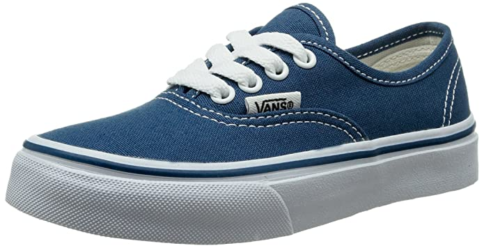 Vans K Authentic Unisex - Kinder Sneaker Blau (Navy/True White Nwd)
