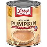 Libby's Pumpkin Pie, Thanksgiving and Holiday Desserts, Pumpkin Pie Filling, 100% Pure Pumpkin, 6 lb 10 oz Can Bulk