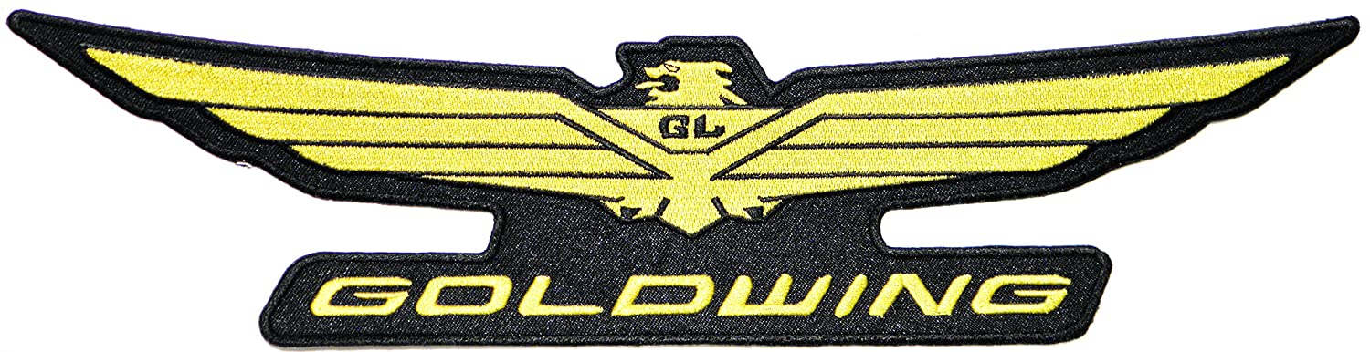 Honda Gold Wing Wide Eagle Biker Embroidered Iron on Patch