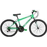 Huffy Bicycle Company Boys Number 24505 Granite Bike, 24-Inch, Neon Green