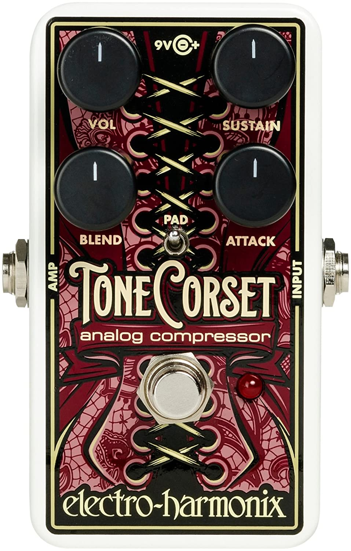 Electro-Harmonix Tone Corset Analog Compressor Effect Pedal
