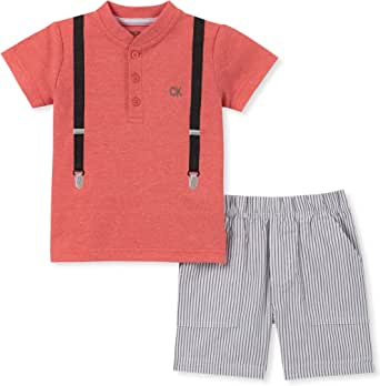 Calvin Klein Baby Boys 2 Pieces Shorts Set