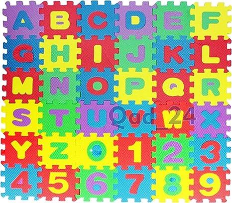 Alfombrillas de goma EVA para niños, de 2You. En forma de puzle