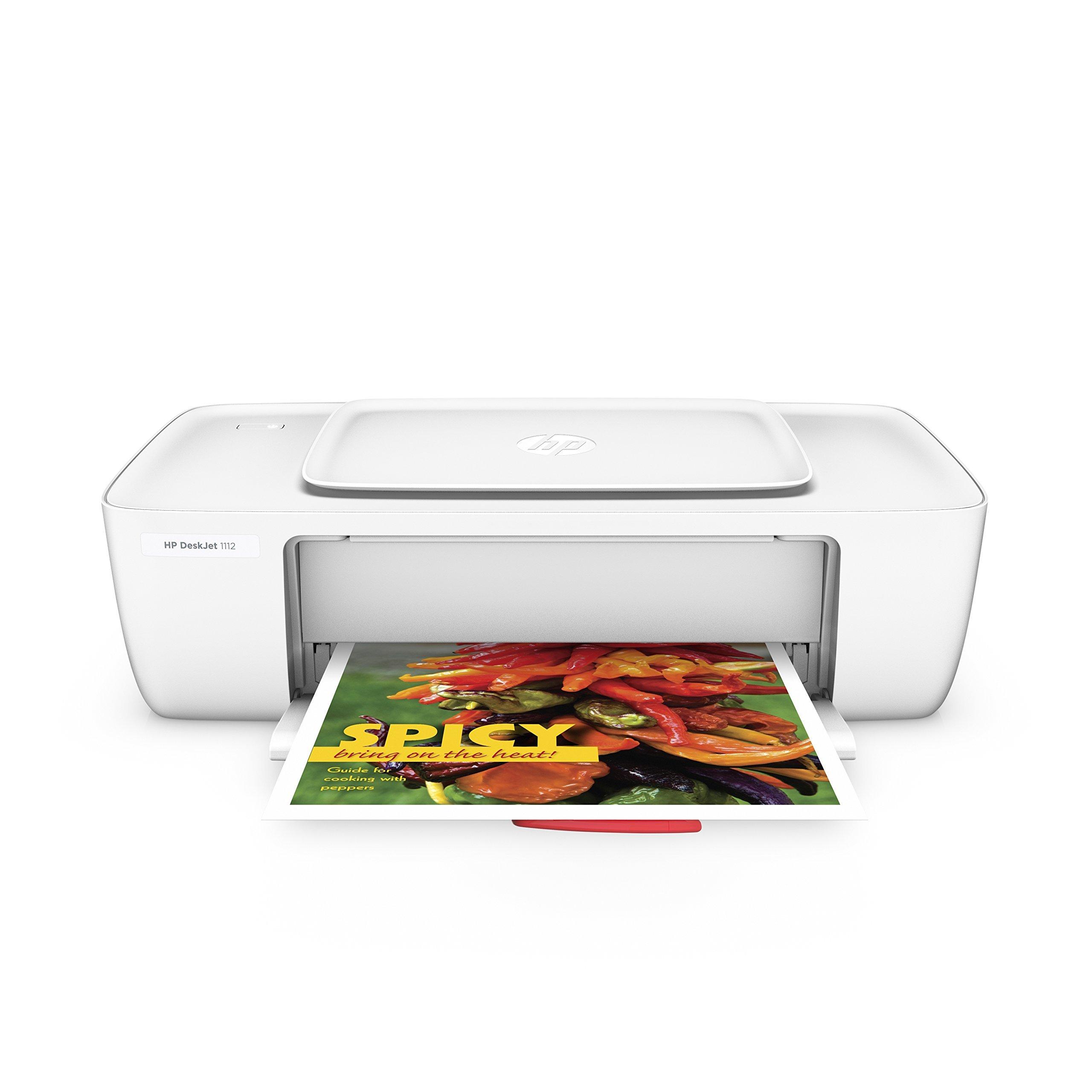HP DeskJet 1112 Compact Printer (F5S23A) (Renewed)