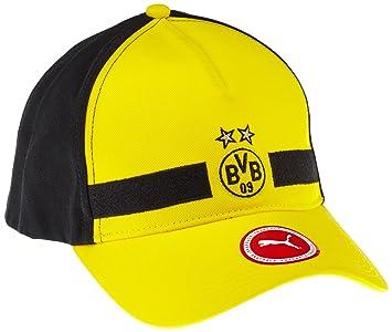 Puma Leisure Cap Borussia Dortmund, Unisex, Mütze BVB Leisure Cap, Cyber  Yellow Black