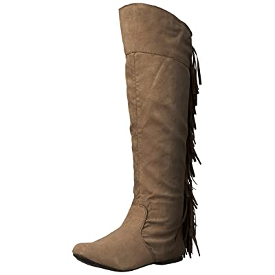 Qupid Women's Neo-162 Western Boot | Over-the-Knee