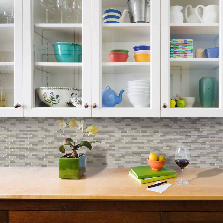 Amazon Smart Tiles Peel and Stick Backsplash and Wall Tile