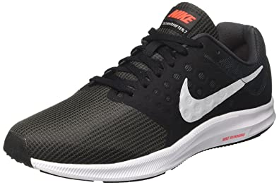 best website 6e670 e5f29 Nike Downshifter 7, Chaussures de Running Homme, (Anthracite Platine  Pur Noir