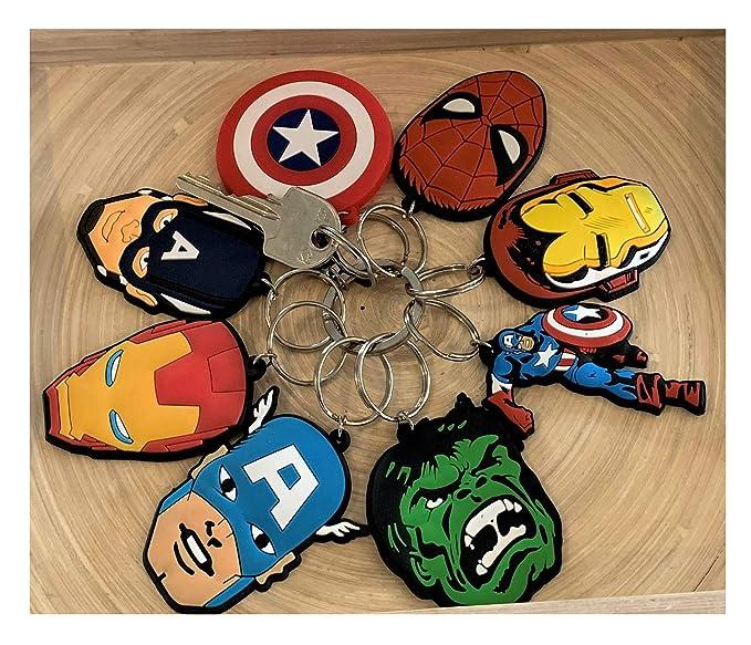 Amazon.com: Toys & Gamers - Juego de 8 llaveros de ...