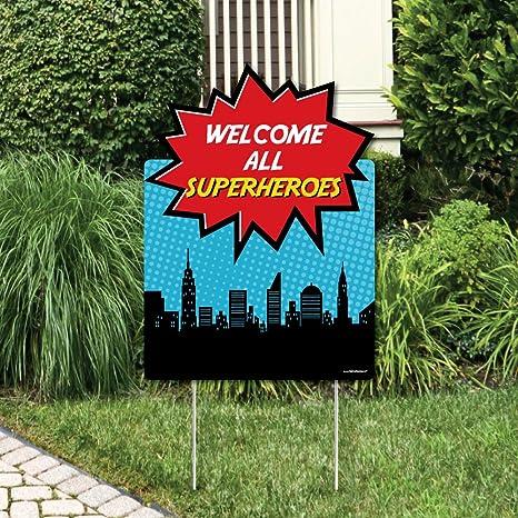 Amazon Big Dot Of Happiness BAM Superhero